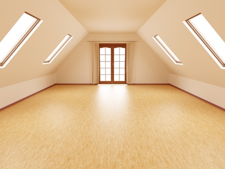 empty room Stock Photo - 10969571
