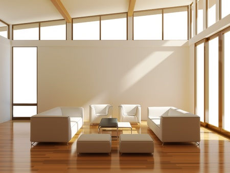 interior with sofa Stock Photo - 11386155
