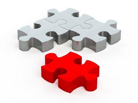 Puzzleteile Standard-Bild - 13389586