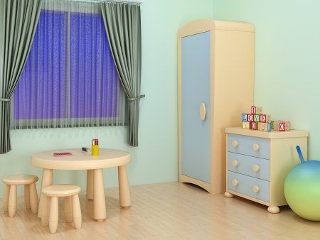children room Stock Photo - 14071291