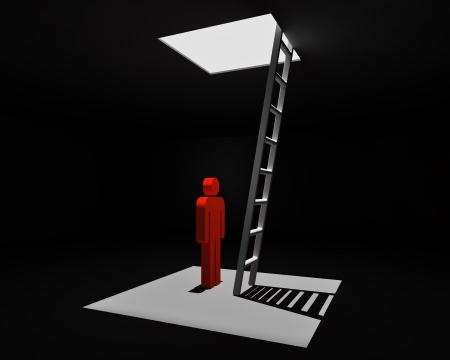 escape from dark room photo