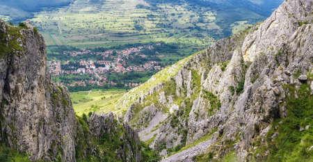 mountain landscape Standard-Bild
