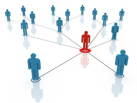 Soziales Netzwerk Standard-Bild - 17955014