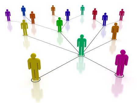 social gathering: Concept image Representing network, networking, connection, social networks, communications