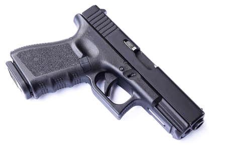 pistola: arma de la mano sauer sig Foto de archivo