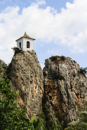 bell tower: Bell Tower in Guadalest, Valencia, Spain