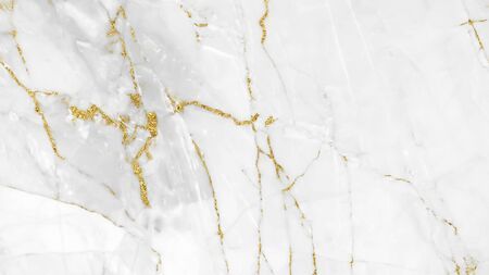 White gold marble texture pattern background design for your creative design