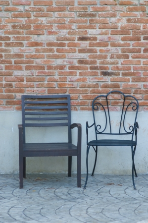 Two chairs photo