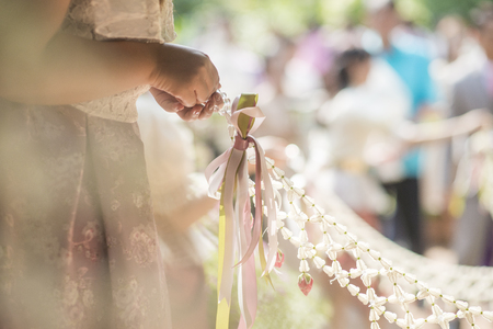 Thai wedding decoration