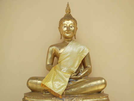 tenet: image of Buddha  . Photograph at Thailand . Stock Photo