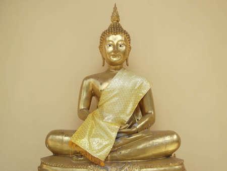 sculpt: image of Buddha  . Photograph at Thailand . Stock Photo
