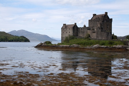 Eilean Donan Castle, Scotland, July 4, 2011 Editorial