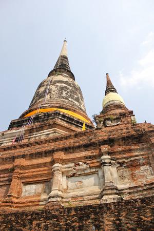 ayutaya temple Thailand. photo