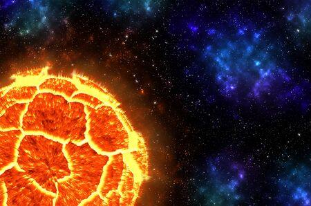 detonation: Exploding Planet