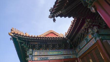 yong: Beijing, China - Yong he gong , Lama Temple Stock Photo