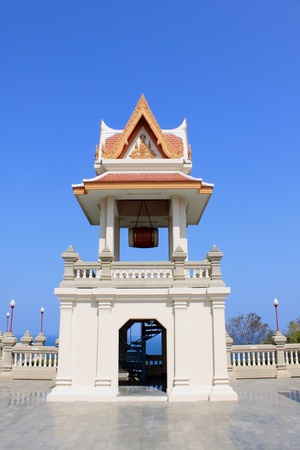 Thai temple bell tower