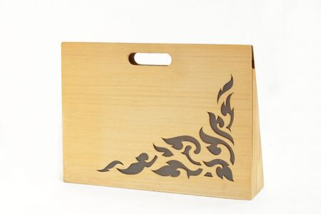 Pattern of Thai style molding art photo