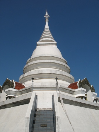 Temple in northern Thailand Stock Photo