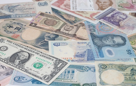 Banknotes, currencies around the world. Stock Photo - 10793724