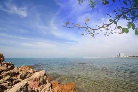 Pattaya beach, east of Thailand photo