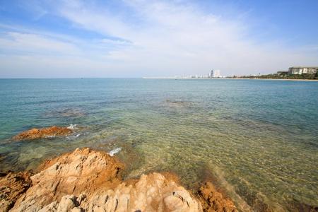 Pattaya beach, east of Thailand