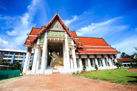 Wat Hat Yai Nai is the site of a large reclining Buddha , believed to be the third largest reclining Buddha in the world