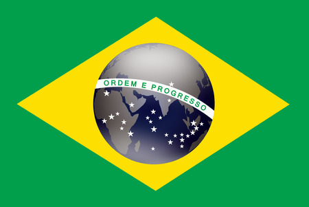 Football competition in Brasil 2014 Stock Photo