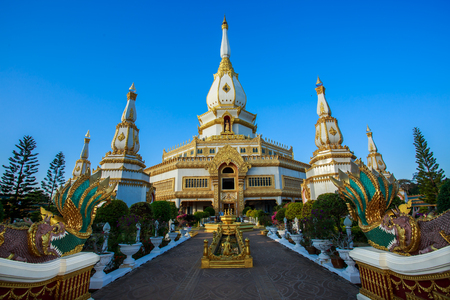Temple and pagoda a religion  North Eastern Thailand
