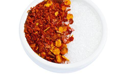 pepper flakes: pepper and Sugar