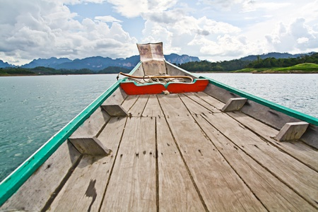 Wooden boat photo