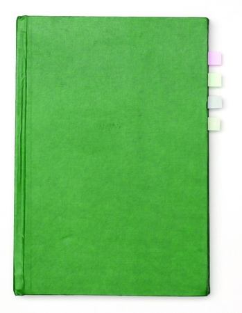 a green book Stock Photo - 11177101