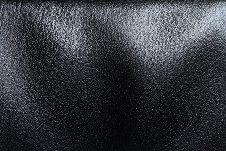 shiny black: leather texture background
