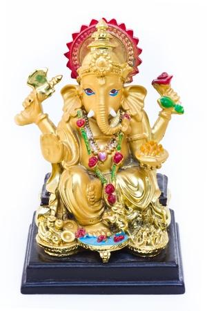 ganesh: Dios hindú Ganesh Foto de archivo