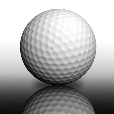 golf ball: Golf ball
