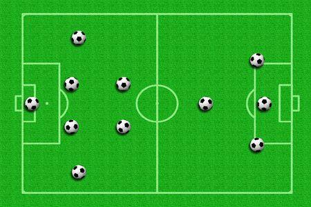 soccer ball Tactics photo