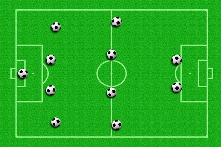soccer ball Tactics photo