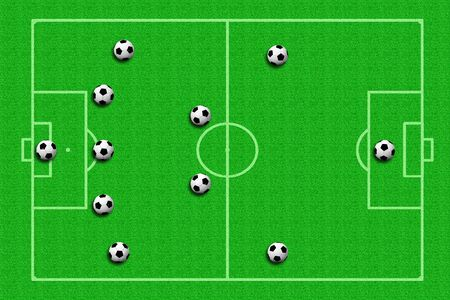 tactics: soccer ball Tactics Stock Photo