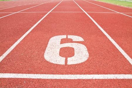 sport running track Stock Photo - 12647834