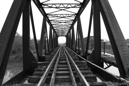 Old railway bridge Stock Photo - 12661908