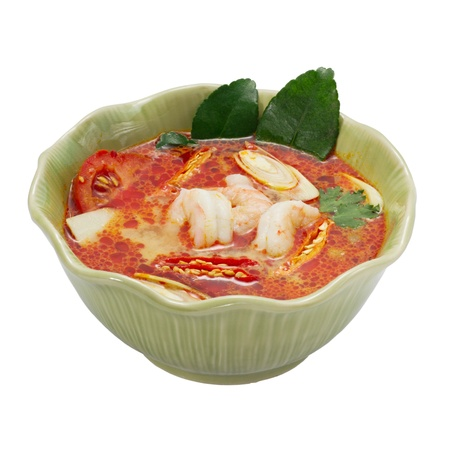 tom yum goong , thai food photo