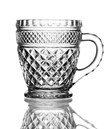 goblet: Empty glass