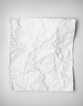 crumpled paper photo