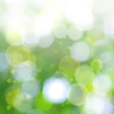 green bokeh background photo