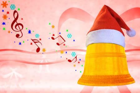 Abstraction of a Christmas bell. Stock Photo - 11764623