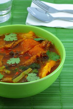 Thai Hot and sour fish  photo