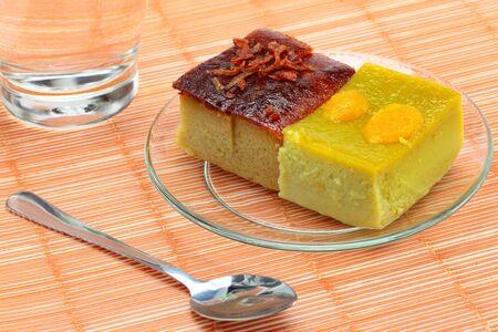 Thai desserts Grain of rice  photo