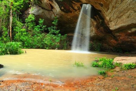 chan: Sang Chan Waterfall In Ubon Ratchathani Thailand  Stock Photo