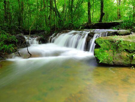 Part of Soi Sawan waterfall  National Park in Pha Taem Ubon Ratchathani Thailand Stock Photo - 15119362