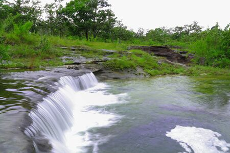 soi: Part of Soi Sawan waterfall Thailand
