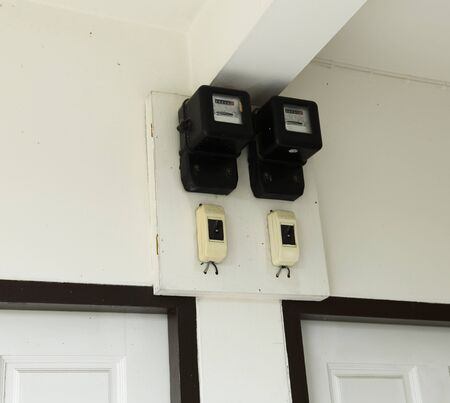 electric meter: Meter of the apartment